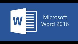 Microsoft Word 2016 المبتدئين التعليمي ( كيفية إنشاء السيرة الذاتية )