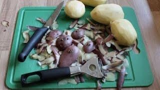 How to grow potatoes from potato peelings trial.