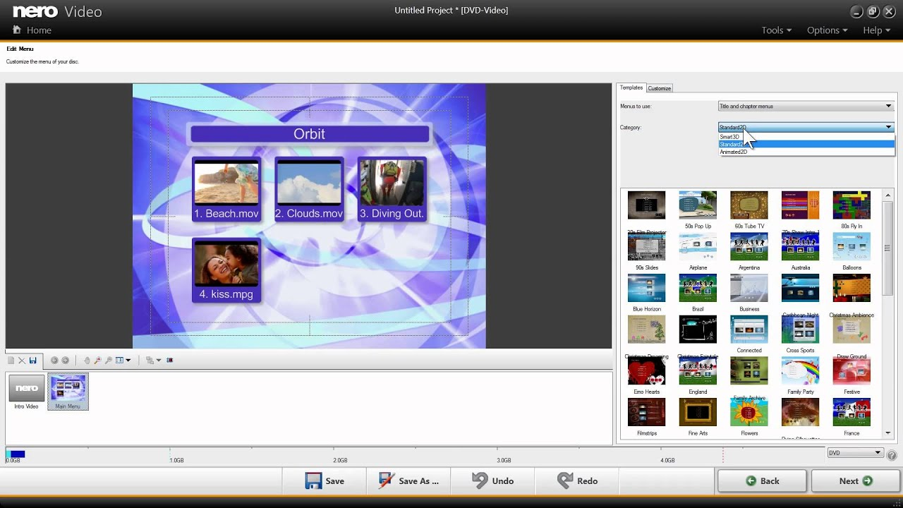 Create Video Dvds In Nero Via Drag & Amp Drop Youtube