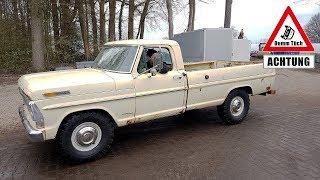 5,9L V8 US-Pickup kaputt fahren?!  Ford F250 | Dumm Tüch