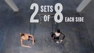 Train Like An Angel 2014  Candice Swanepoel Butt Workout