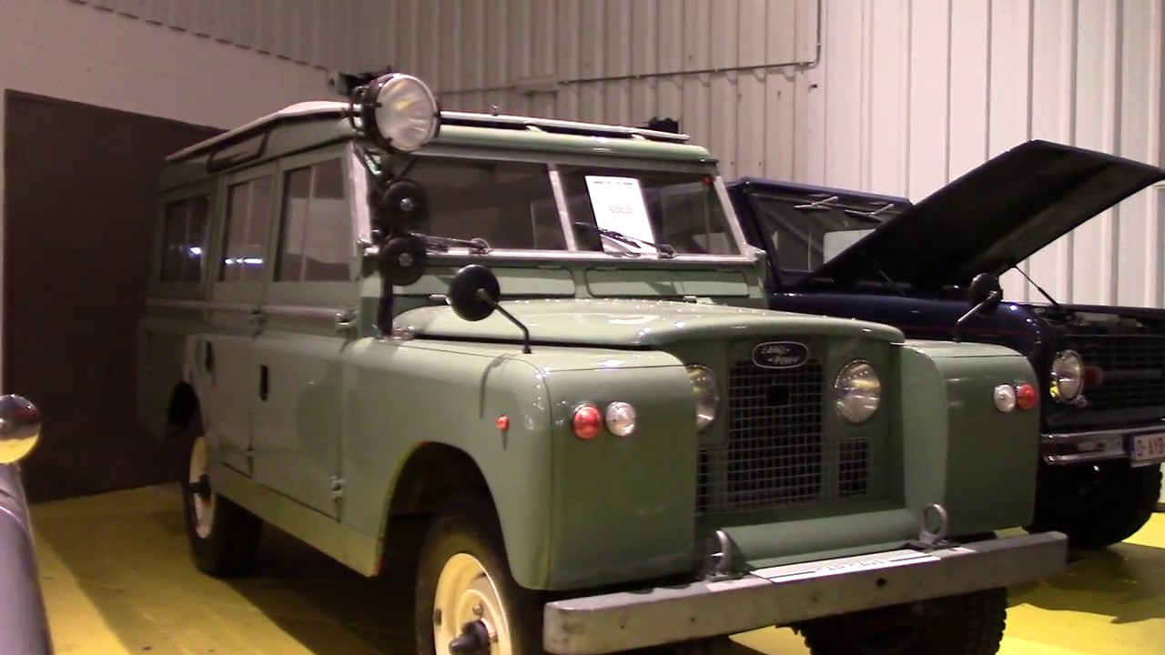 1967 Land Rover 109 inch series 2 station wagon for sale at garage
