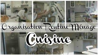 ❥ ORGANISATION ROUTINE MÉNAGE CUISINE  [BIO ET MINIMALISTE]  !!! ♥
