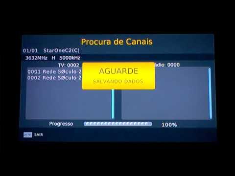 Inserindo Rede Século 21  HD e Canal Rural Sd no mídiabox B1/B2.