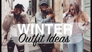 WINTER OUTFIT IDEAS 2017 | Wardrobe Updates & Styling Ideas | Sinead Crowe