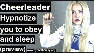 Roleplay hypnosis; cheerleader hypnotize you to sleep and love her  *preview* #hypnosis
