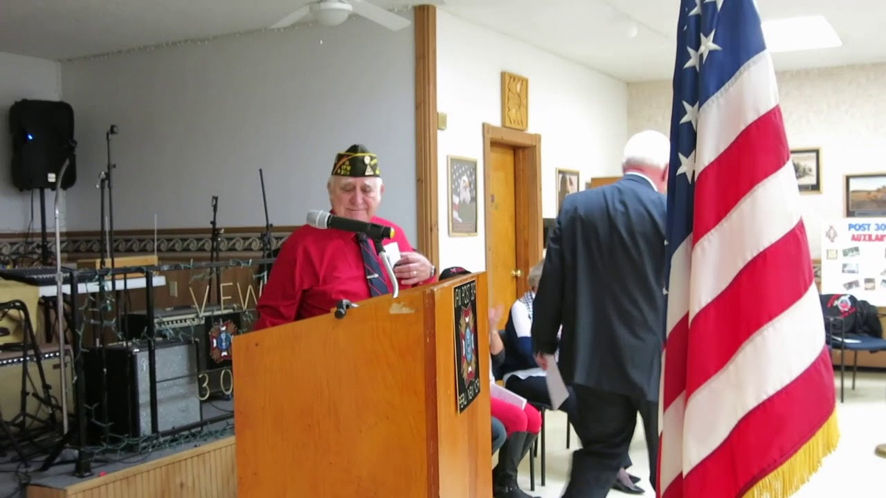 Peru VFW Post 309 Veterans Day  11-11-17