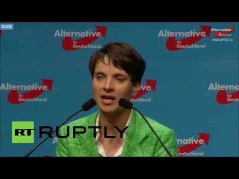 Germany: AfD decides party programme at national congress in Stuttgart