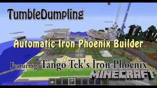 Automatic Iron Farm Builder 1.12.2 (Featuring Tango Tek