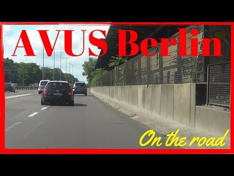 Autobahn A115 AVUS Berlin Germany (1/2) Southbound | On The Road