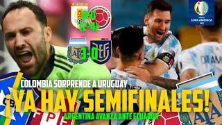 ??¡ASÍ QUEDAN LAS SEMIFINALES DE LA COPA AMÉRICA! ¡ARGENTINA Y COLOMBIA AVANZAN!?(RESUMEN)⚽️????