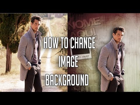How to change background of picture in Photoshop | photoshop s photo ka background image kaise badle