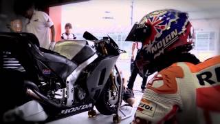Casey Stoner MotoGP Machine Test in TWIN RING MOTEGI thumbnail