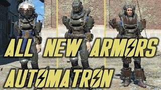 Fallout 4 - Automatron - All New Armors