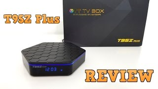 T95Z Plus TV Box REVIEW - Amlogic S912, 2GB RAM, 16GB ROM
