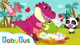 Dinosaur Is Looking For His Mom | Nursery Rhymes | Kids Songs | BabyBus
