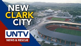Drone's Eye View Of The World-class New Clark City Sports Hub