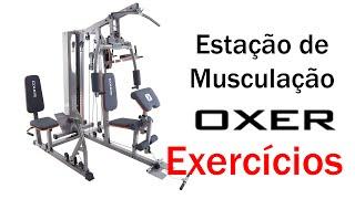 🏋️ Exercícios - Estação de Musculação Oxer