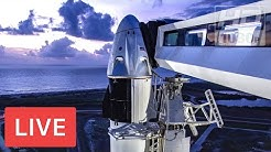 WATCH NOW: SpaceX's 1st astronaut mission! Crew Dragon #DM2 launch from historic NASA pad @3:22pmET