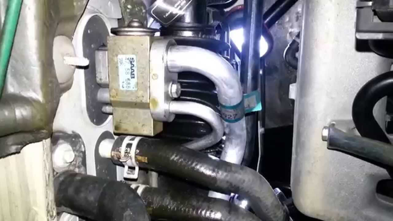 2002 Saab 93 power steering leak (1)  YouTube