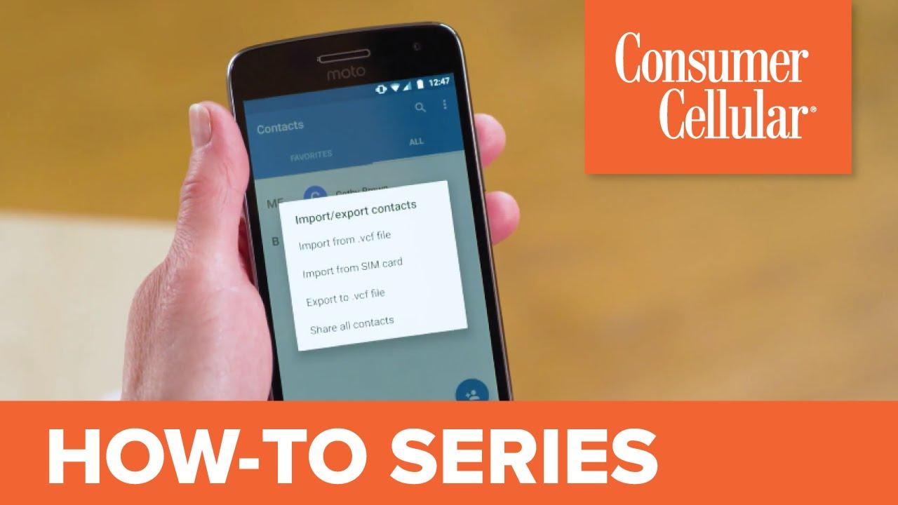 Motorola Moto G⁵ Plus: Transferring Contacts (9 of 12) | Consumer Cellular