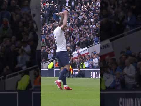 BRILLIANT angle of Hojbjerg's goal against Aston Villa!  |  MONSTER CAM #Shorts