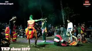 Lagu jaranan brontoyudho voc tompel feat tria (TKP show 1277)