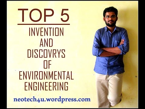 Top 5 Invention and Discovery of Environmental Engineering with grand prize