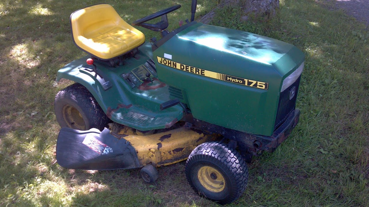 john deere 175 hydro craigslist ad video youtube