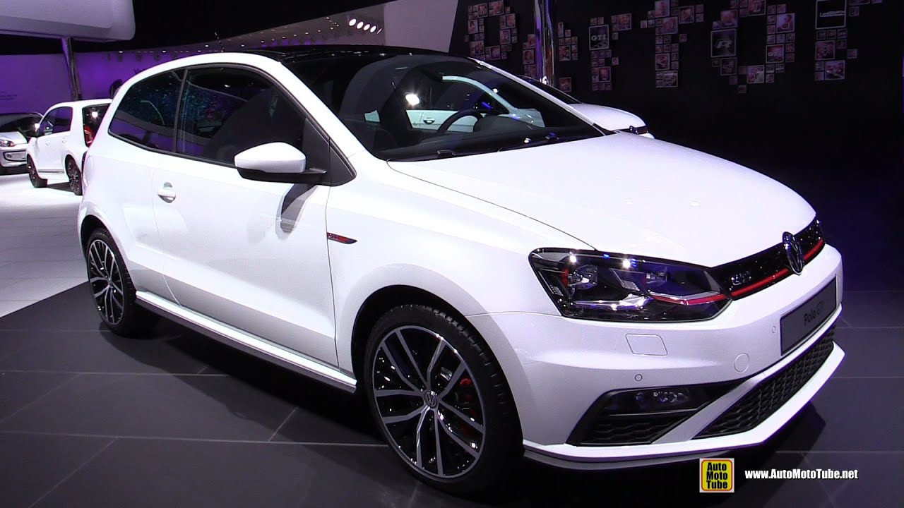 2016 volkswagen polo gti exterior and interior walkaround 2015 frankfurt motor show youtube. Black Bedroom Furniture Sets. Home Design Ideas