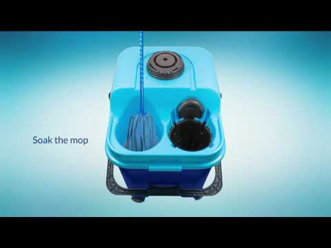 The First Mopping System which Always Uses Clean Water