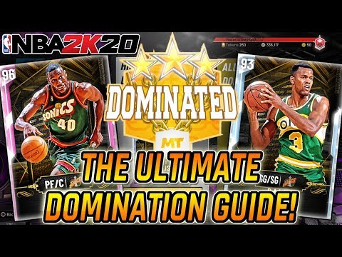 NBA 2K20 MYTEAM - HOW TO BEAT DOMINATION! HOW TO BEAT ALL-TIME DOMINATION! THE ULTIMATE GUIDE!