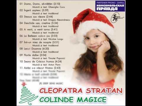 cantece de iarna si Craciun – Cleopatra Stratan – Florile dalbe