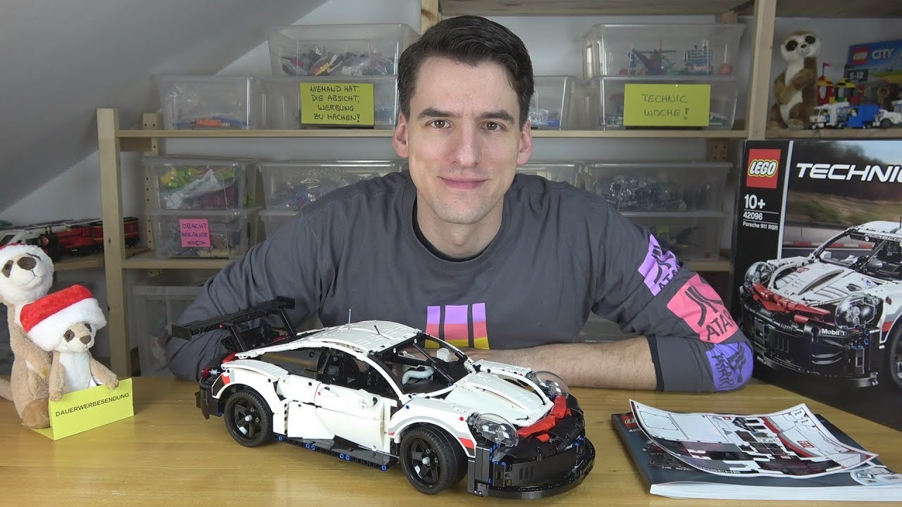 lego technic 42096 porsche 911 rsr youtube. Black Bedroom Furniture Sets. Home Design Ideas