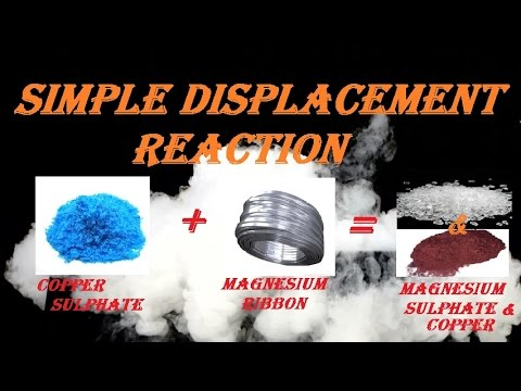 SIMPLE DISPLACEMENT REACTION | CuSo4 And Mg