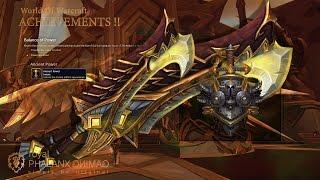 Achievement-Legion 7.1.5 Warrior Warswords of the Valarjar Raid Skin + Balance of Power Quest-Line