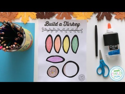Thanksgiving Turkey Craft EASY