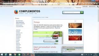 Como adicionar e remover tema no Firefox