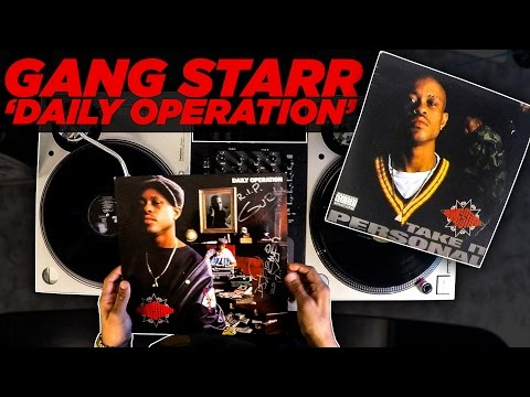 Клип Gang Starr - Daily Operation