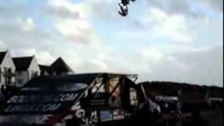 Quad Bike Stunt Fail!
