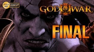 God of War 3 Final Español Walkthrough Ending La muerte de Zeus 1080p