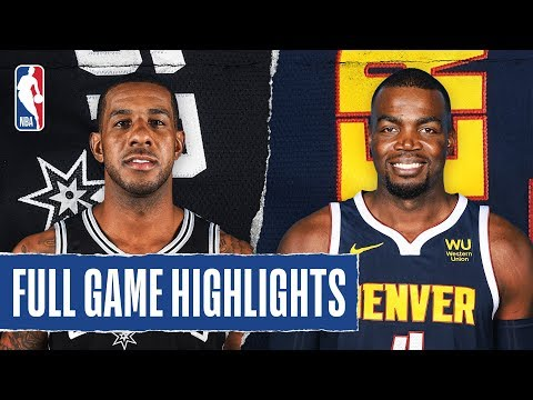SPURS at NUGGETS | FULL GAME HIGHLIGHTS | February 10, 2020