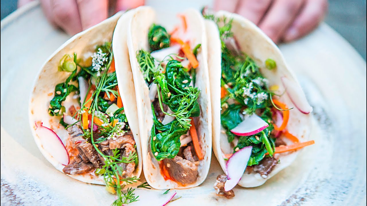 Korean bbq beef tacos recipe youtube forumfinder Image collections