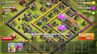 Clash of clans: part 4 tesla towers and loaded with gold