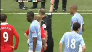 Paul Scholes Vicious Red Card Tackle