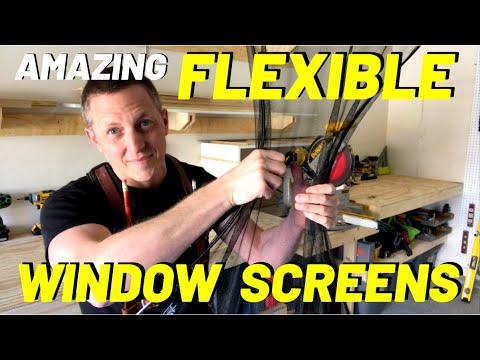 FLEXIBLE WINDOW SCREENS?? (SHARK TANK Thinks THIS is the FUT