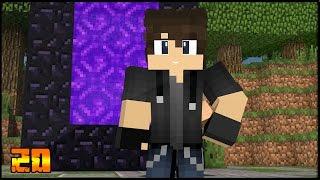 Sincronização de Portais e Caminhos Rápidos no Nether! - Survival Mapa #20 - Jogar Minecraft 1.9