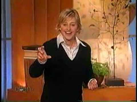 Ellen's monologue about making decisions