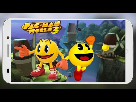 Download & Play Pac Man World 3 PPSSPP Game Any Android Mobile Hindi