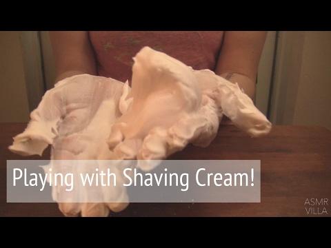 ASMR * Theme: Shaving Cream * Tapping & Scratching  * Fast Tapping * No Talking * ASMRVilla
